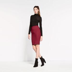 skirt-with-zipper
