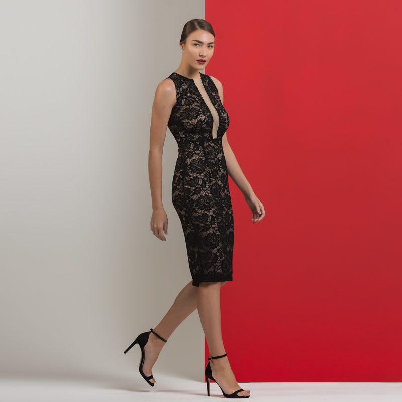 Δαντελένιο φόρεμα
