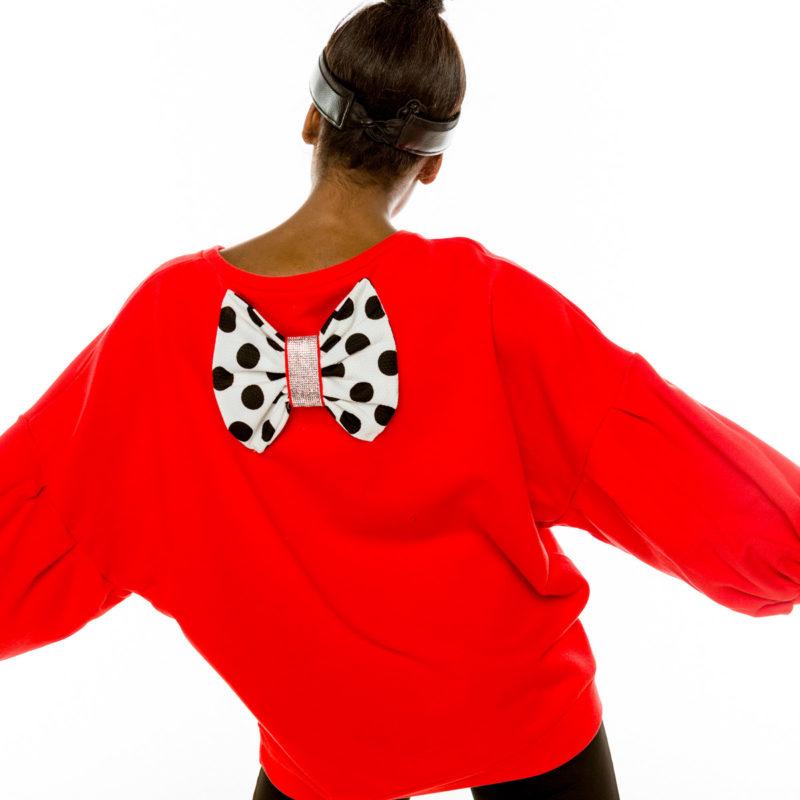Cinderella μπλούζα με φιόγκο στην πλάτη